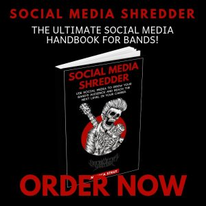 Social media shredder social media book for bands